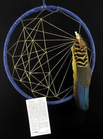 Indian Dream Catchers For Sale Tom Gray Elk Rael Native American Artist Profile DreamCatcher 37