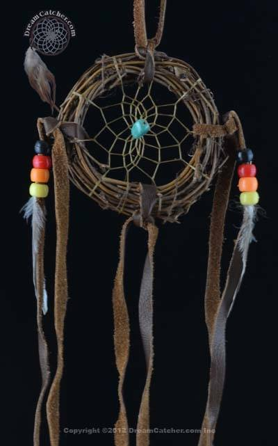 40 Inch Navajo Vine Dream Catcher With Turquoise Stone DreamCatcher Adorable Dream Catcher Pic